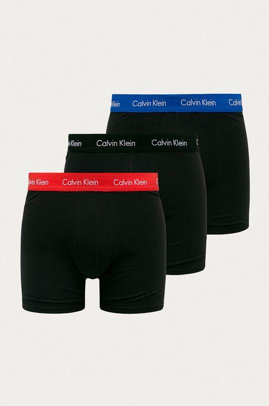 černá Calvin Klein Underwear - Boxerky (3-pack) Pánský