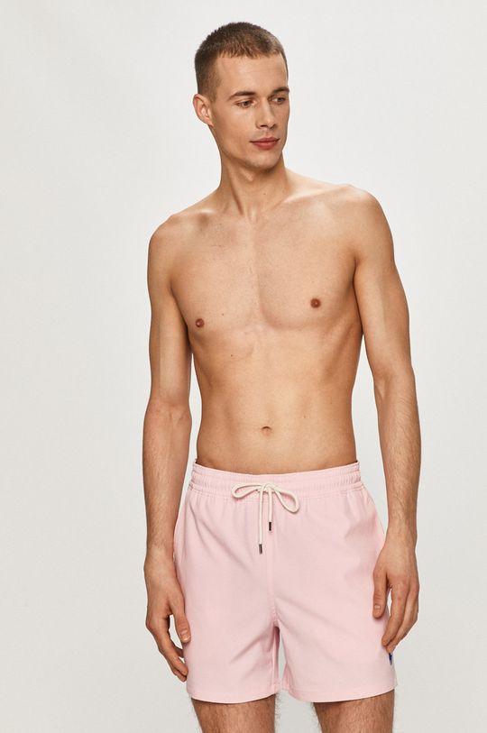 růžová Polo Ralph Lauren - Plavkové šortky Pánský