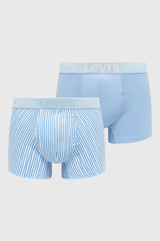 jasny niebieski Levi's - Bokserki (2-pack) Męski