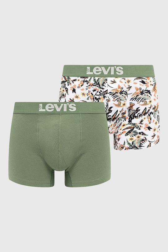 zielony Levi's - Bokserki (2-pack) Męski