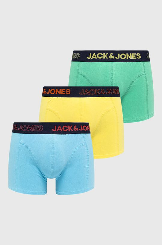 vícebarevná Jack & Jones - Boxerky (3-pack) Pánský