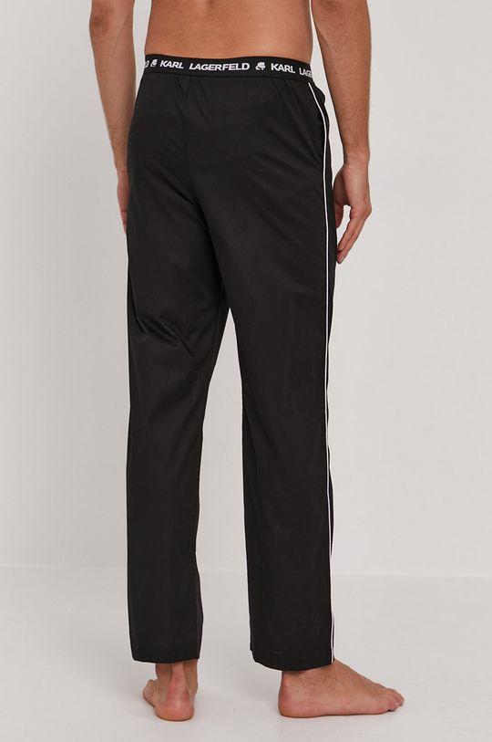 Karl Lagerfeld - Spodnie piżamowe czarny
