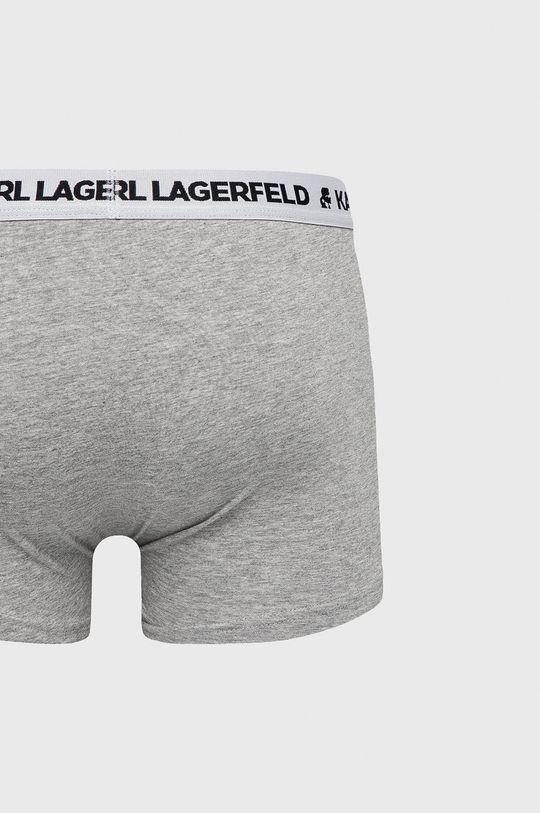 Karl Lagerfeld - Bokserki (3-pack) jasny szary