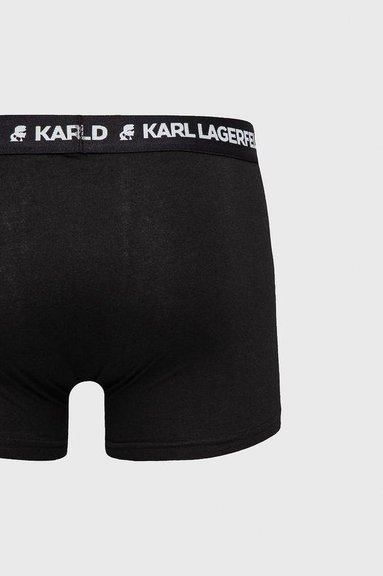 Karl Lagerfeld - Bokserki (3-pack) czarny