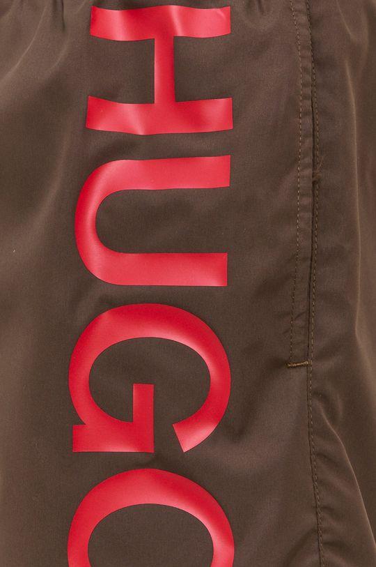 HUGO - Odzież kąpielowa 50451173 brązowa zieleń