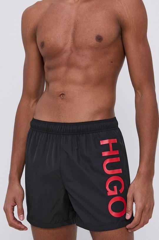 czarny Hugo - Szorty kąpielowe Męski