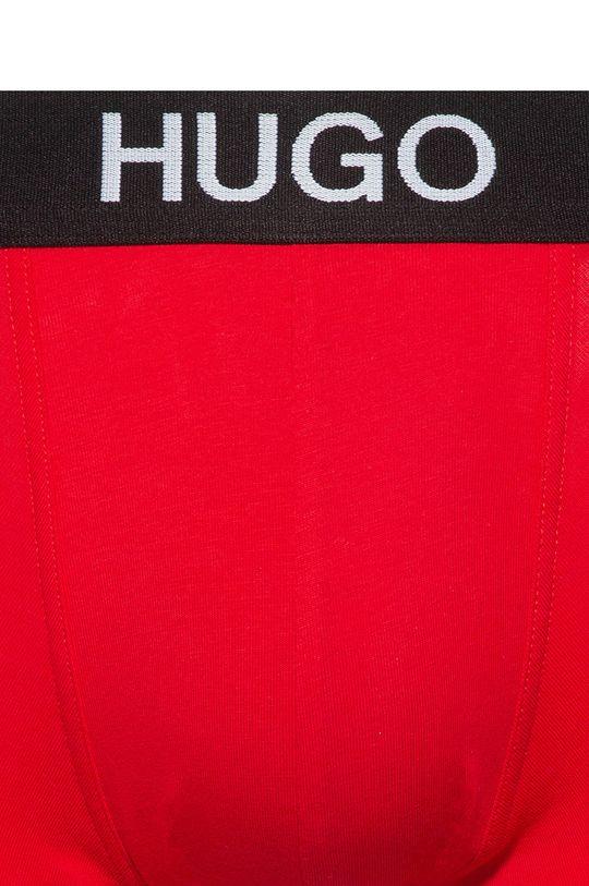 Hugo - Bokserki (2-pack) czarny