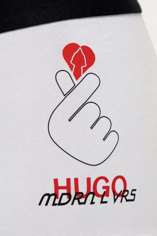 Hugo - Bokserki biały