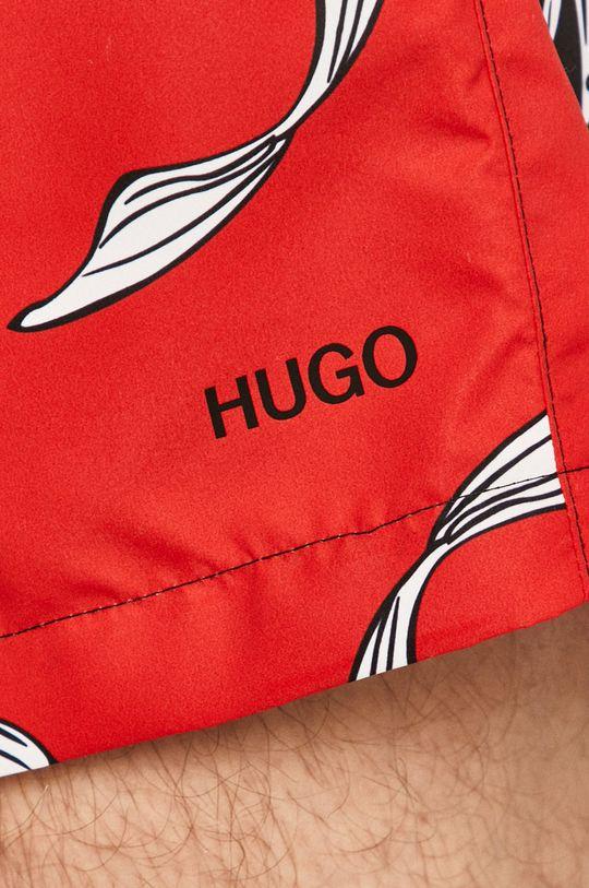 červená Hugo - Plavkové šortky