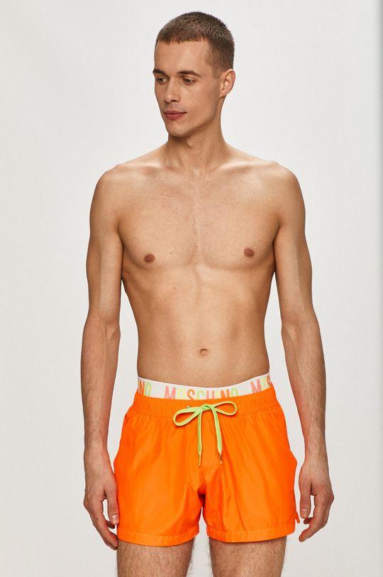 oranžová Moschino Underwear - Plavkové šortky Pánský