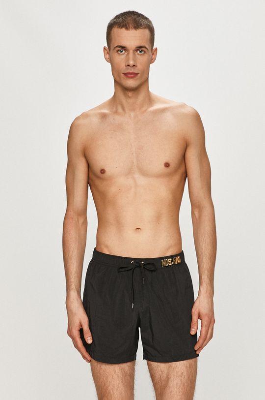 Moschino Underwear - Plavkové šortky černá