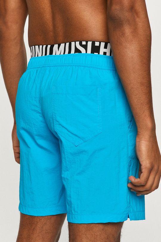 Moschino Underwear - Szorty kąpielowe jasny niebieski