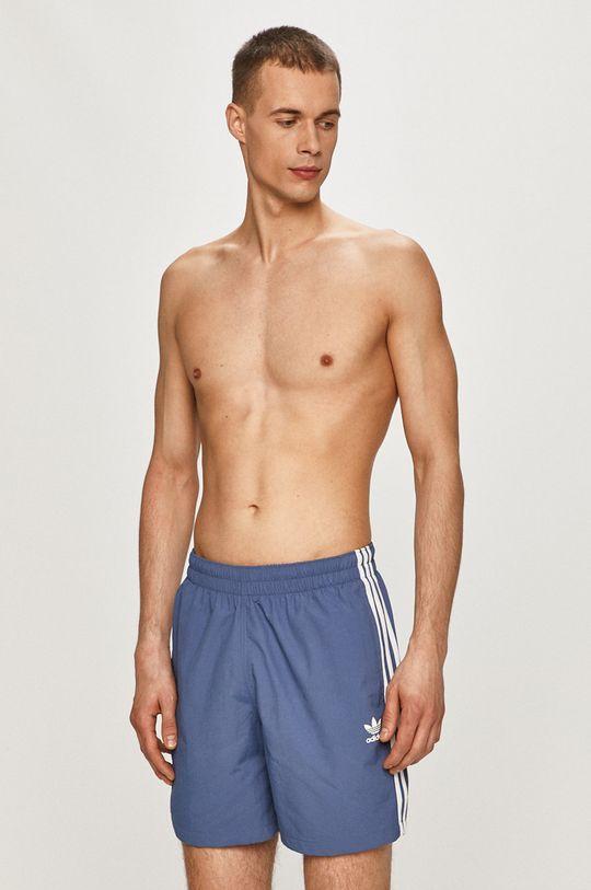modrá adidas Originals - Plavkové šortky Pánský