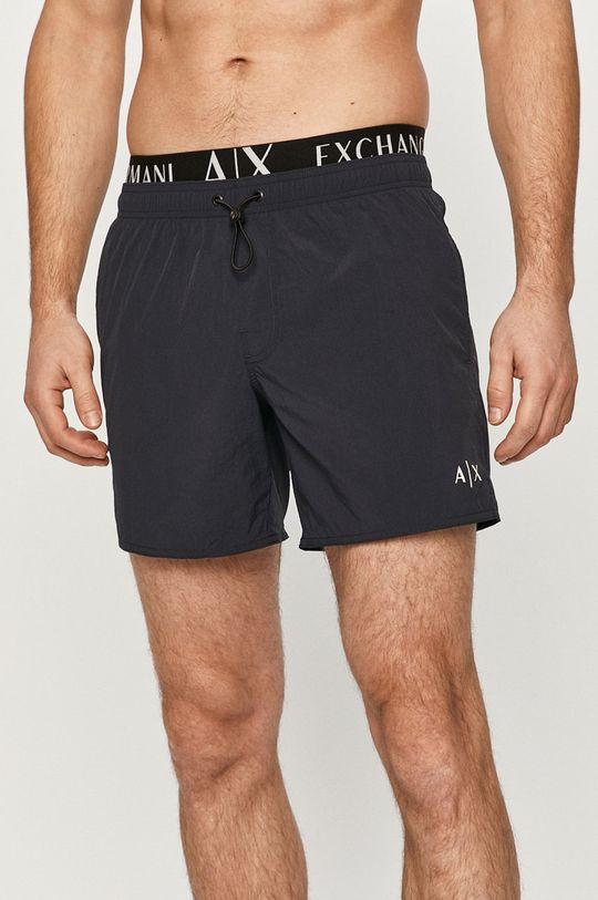 námořnická modř Armani Exchange - Plavkové šortky Pánský