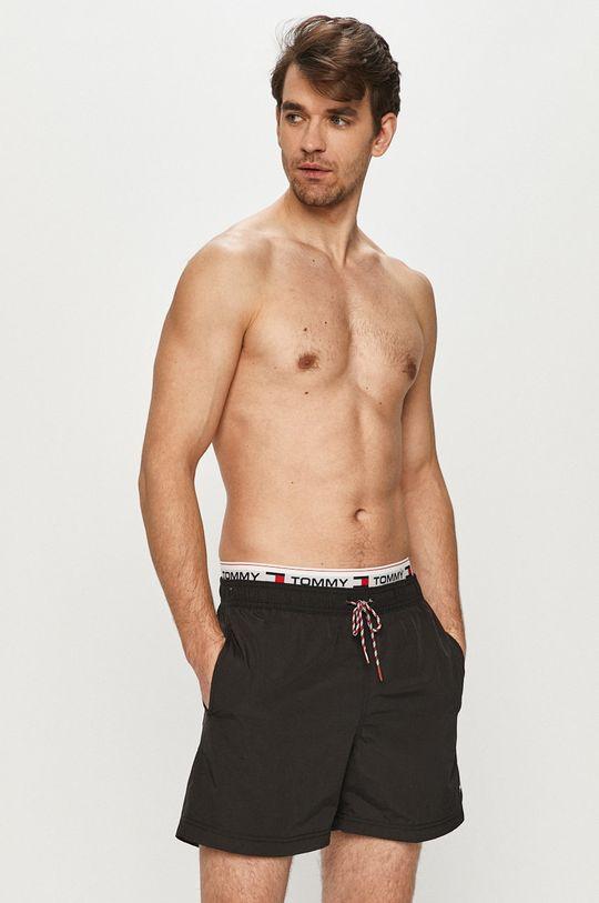 Tommy Hilfiger - Plavkové šortky čierna