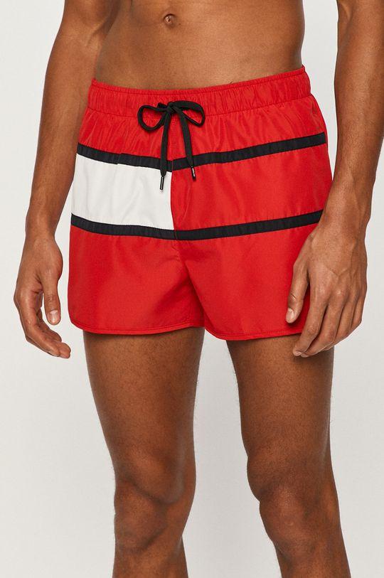 červená Tommy Hilfiger - Plavkové šortky Pánsky