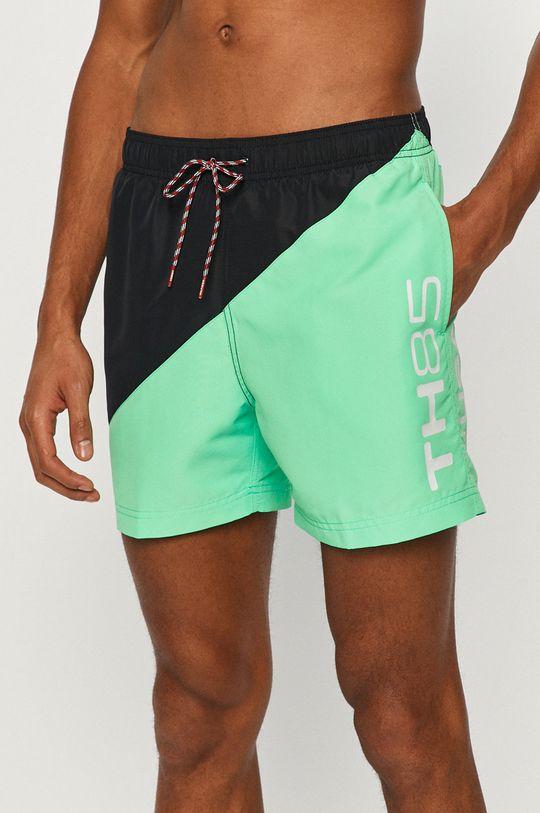 zelená Tommy Hilfiger - Plavkové šortky Pánsky