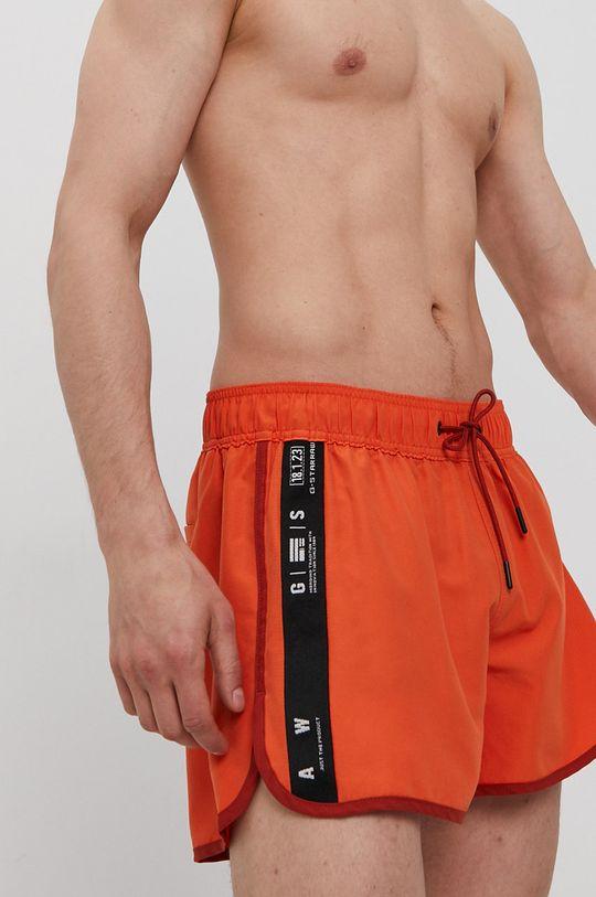 mandarínková G-Star Raw - Plavkové šortky Pánsky