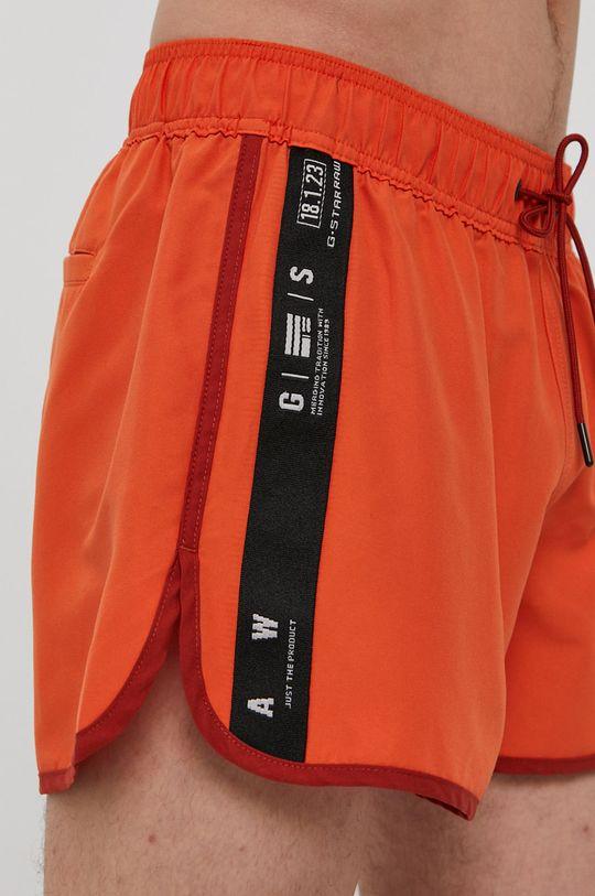 mandarínková G-Star Raw - Plavkové šortky