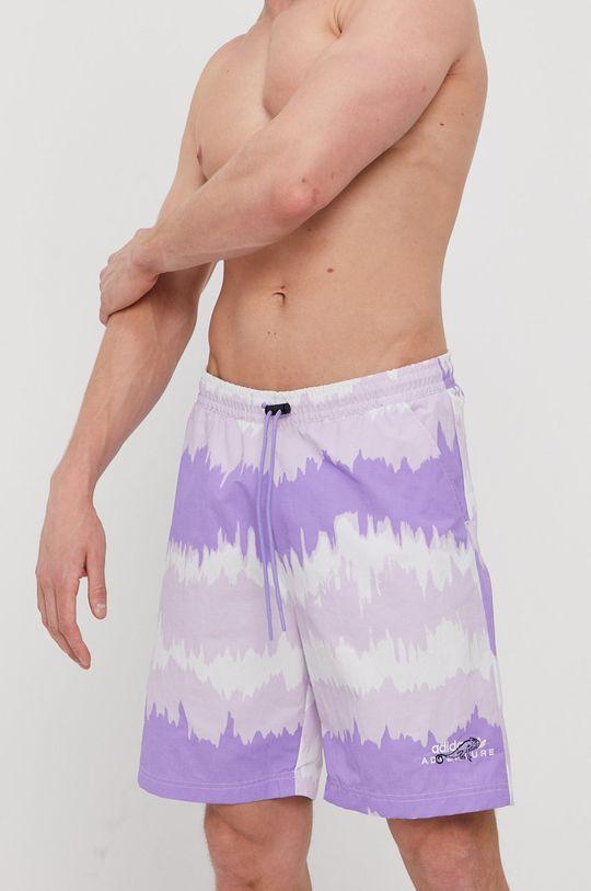 fioletowy adidas Originals - Szorty kąpielowe Męski