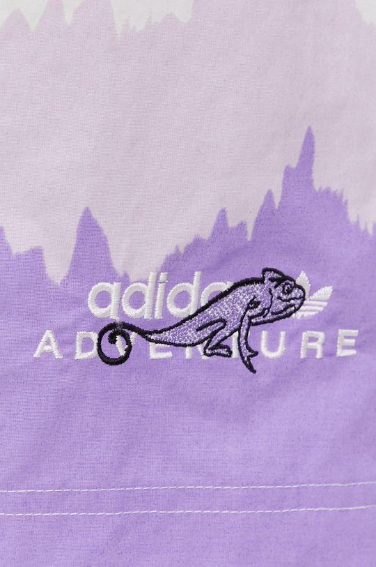fioletowy adidas Originals - Szorty kąpielowe