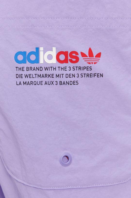 červenofialový adidas Originals - Plavkové šortky