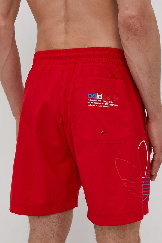 adidas Originals - Plavkové šortky červená