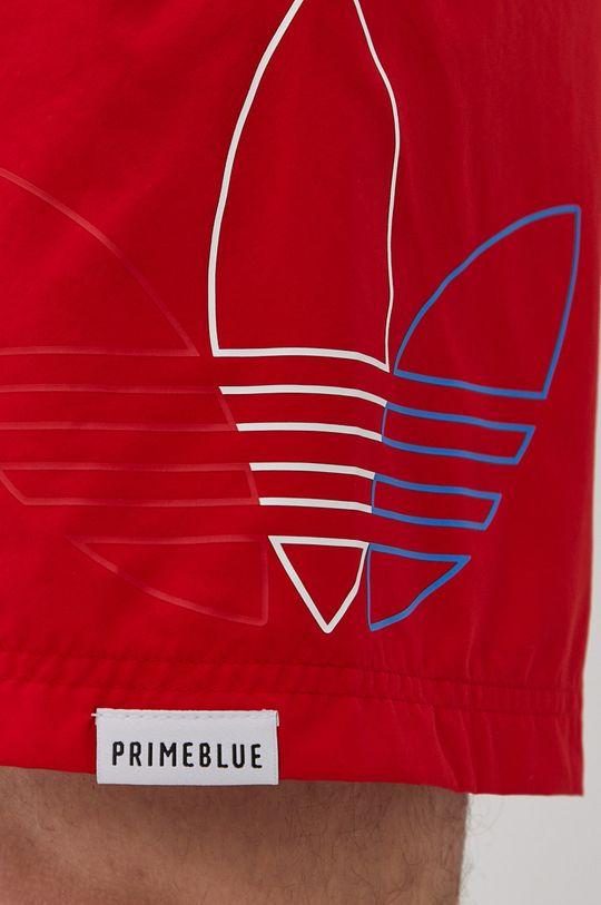 červená adidas Originals - Plavkové šortky