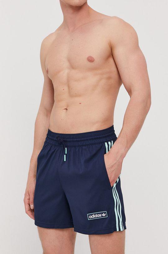 námořnická modř adidas Originals - Plavkové šortky Pánský