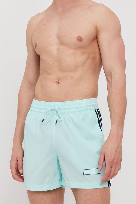 blady turkusowy adidas Originals - Szorty kąpielowe Męski