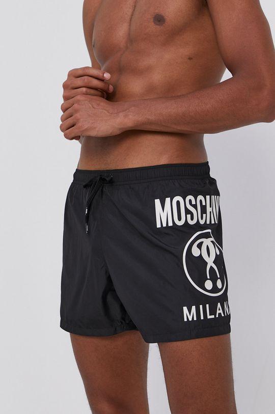 czarny Moschino Underwear - Szorty kąpielowe Męski