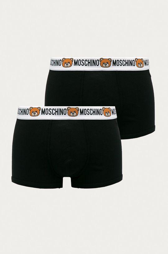 černá Moschino Underwear - Boxerky (2-pack) Pánský