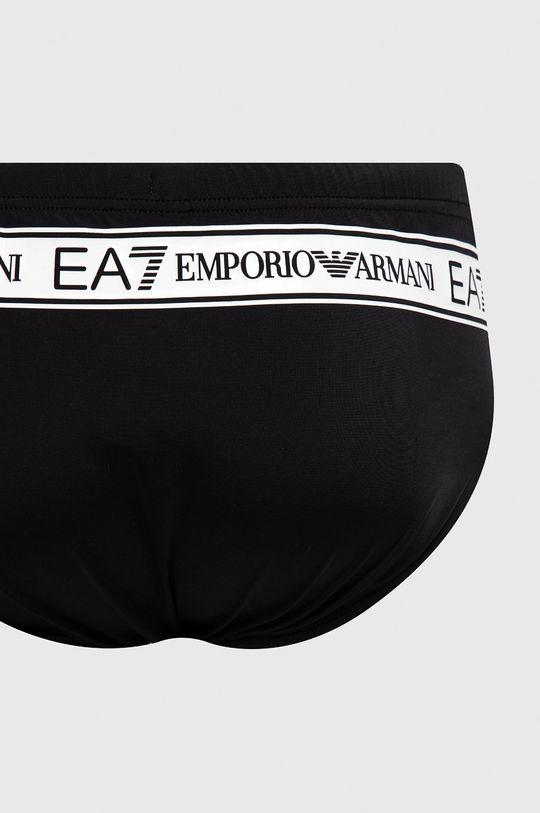 EA7 Emporio Armani - Kąpielówki czarny