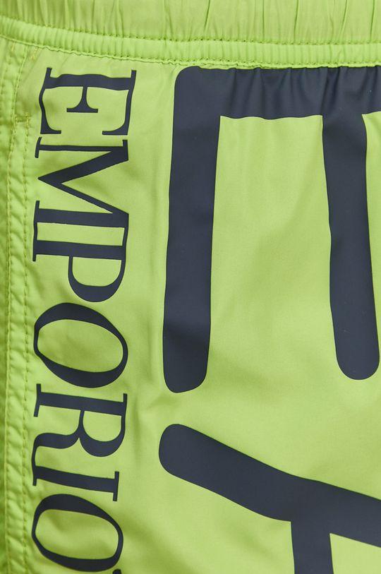 zelená EA7 Emporio Armani - Plavkové šortky