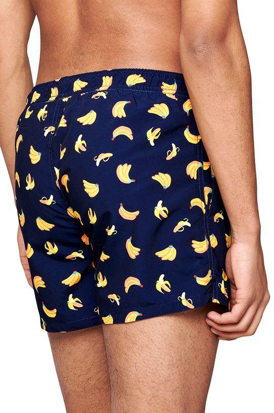Happy Socks - Szorty kąpielowe Banana granatowy