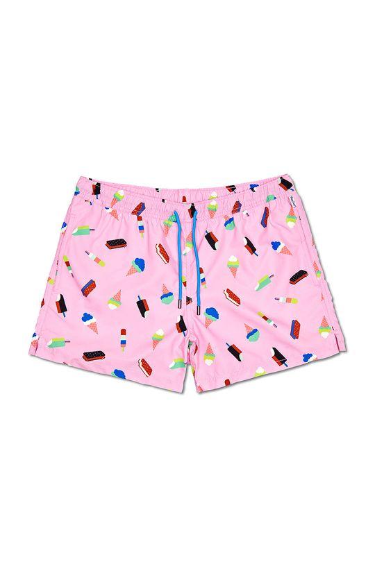 Happy Socks - Szorty kąpielowe Ice Cream Podszewka: 100 % Poliester, Materiał zasadniczy: 100 % Poliester