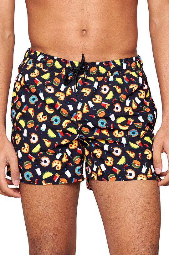 vícebarevná Happy Socks - Plavkové šortky Junk Food Pánský