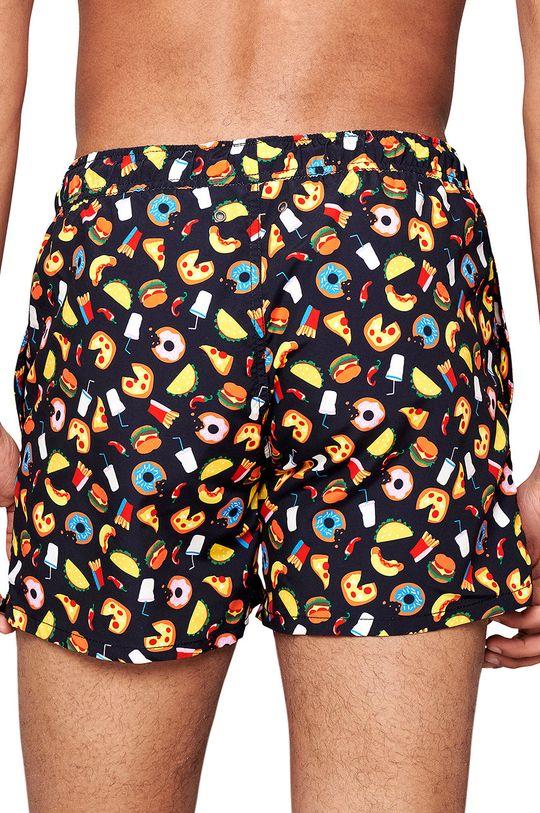 Happy Socks - Plavkové šortky Junk Food vícebarevná