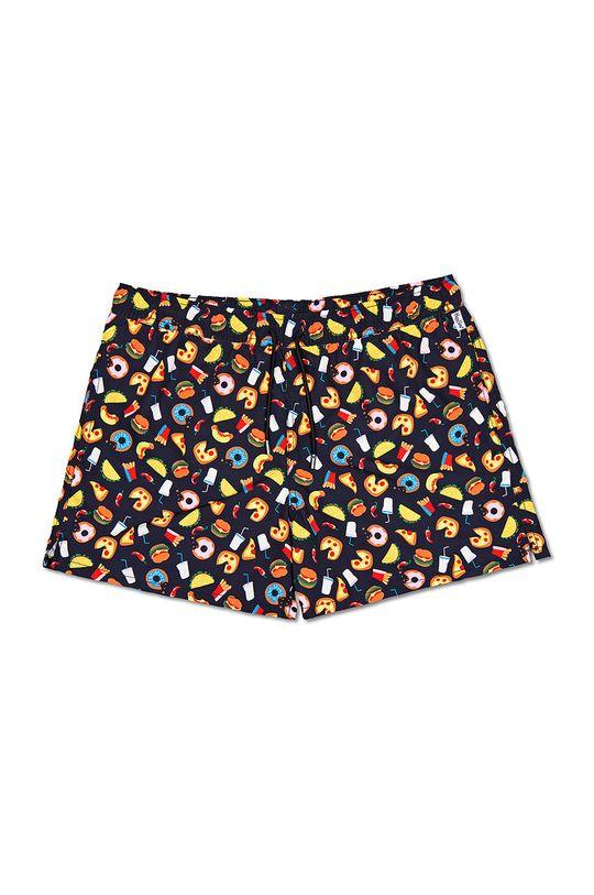 Happy Socks - Plavkové šortky Junk Food  Podšívka: 100% Polyester Hlavní materiál: 100% Polyester