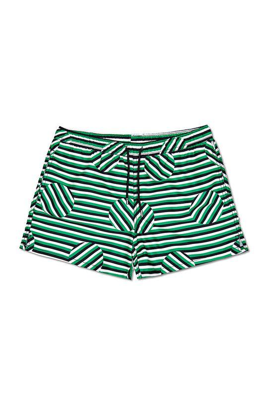 Happy Socks - Szorty kąpielowe Striped Jumbo Dot Podszewka: 100 % Poliester, Materiał zasadniczy: 100 % Poliester