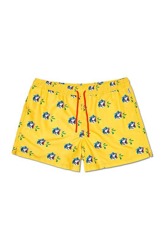 Happy Socks - Szorty kąpielowe Tiger Podszewka: 100 % Poliester, Materiał zasadniczy: 100 % Poliester