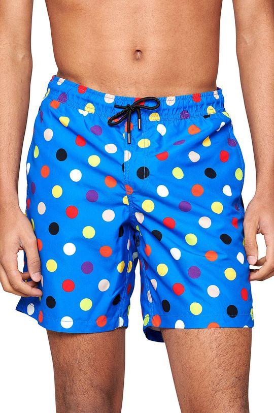niebieski Happy Socks - Szorty kąpielowe Big Dot Męski