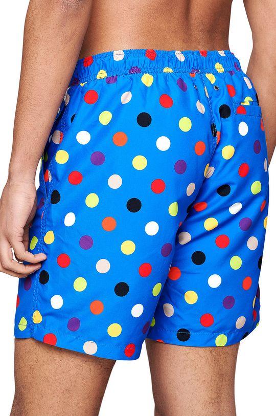 Happy Socks - Szorty kąpielowe Big Dot niebieski