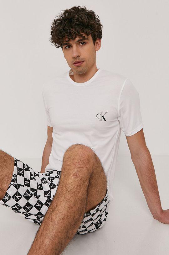 biały Calvin Klein Underwear - Piżama Męski