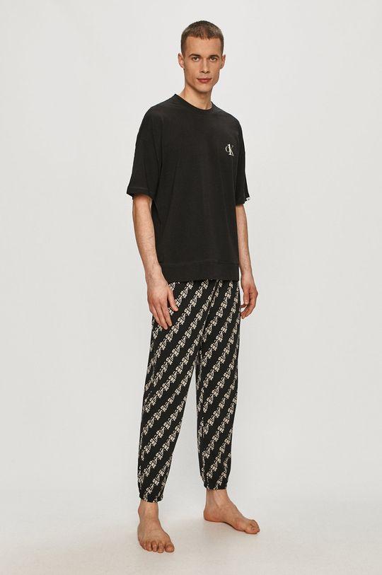 černá Calvin Klein Underwear - Pyžamo Pánský