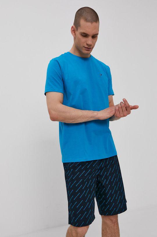 modrá Tommy Hilfiger - Pyžamo Pánsky