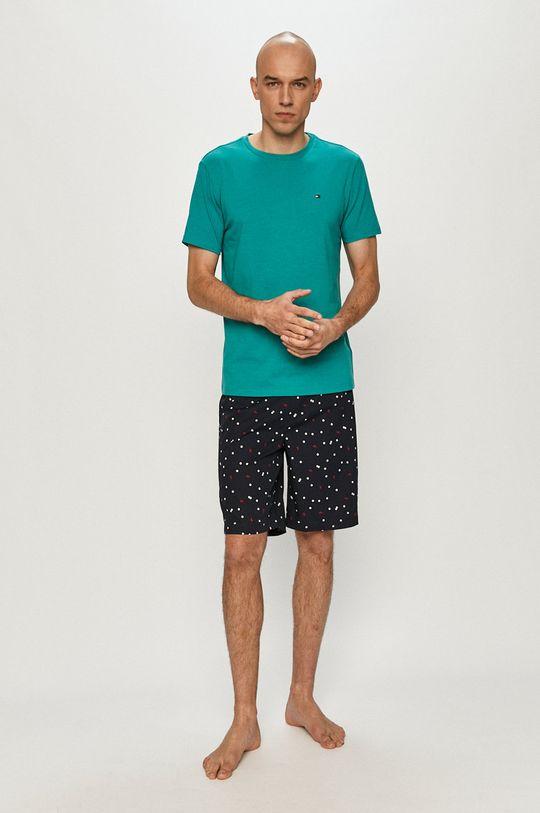 zelená Tommy Hilfiger - Pyžamo Pánský