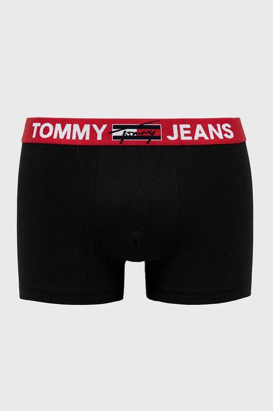 czarny Tommy Jeans - Bokserki Męski