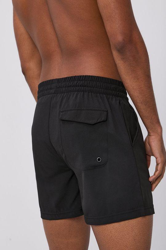 4F - Plavkové šortky černá