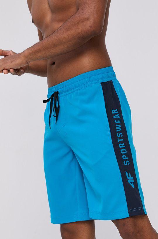 modrá 4F - Plavkové šortky Pánský